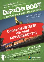 Flyer Depeche Boot